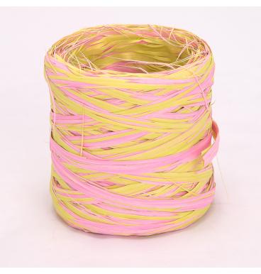 Niinepael heleroosa/kollane, 50m