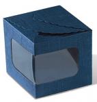 Rombo aknaga, 100*100*100 sinine võrk